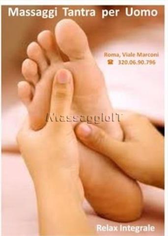 Massaggiatori Roma MASSAGGIATORE TANTRA PER UOMO + RELAX INTEGRALE + ROMA VIALE MARCONI