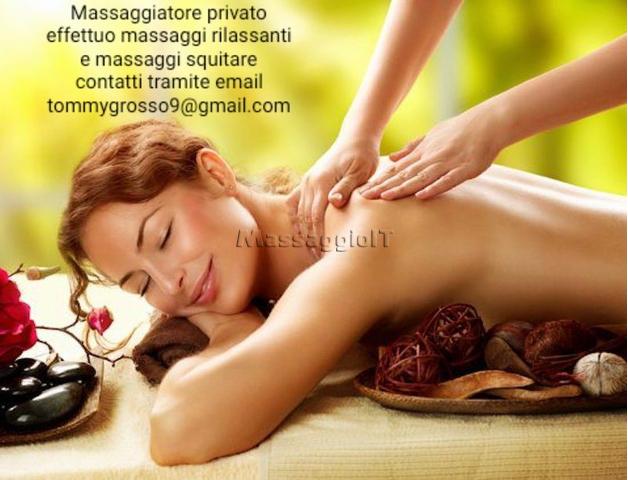 Massaggiatori Napoli Massaggiatore privato a domicilio